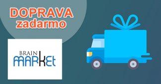 Doprava zadarmo k nákupu na BrainMarket.sk