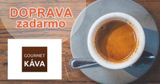 Doprava zadarmo k nákupu na GourmetKava.sk