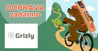 Doprava zadarmo k nákupu na Grizly.sk