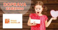 Doprava zadarmo k nákupu na HravaSkolka.sk