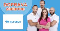 Doprava zadarmo k nákupu na Kloubus.sk