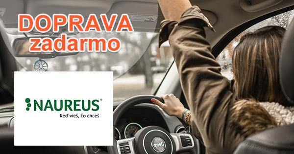Doprava zadarmo k nákupu na Naureus.sk
