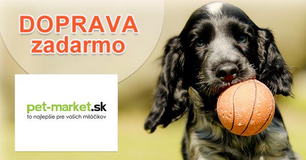 Doprava zadarmo k nákupu na Pet-market.sk