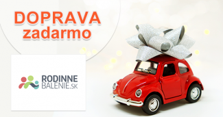 Doprava zadarmo k nákupu na RodinneBalenie.sk