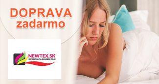 Doprava zadarmo k nákupu na všetko na Newtex.sk