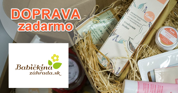 Doprava zadarmo na BabičkinaZáhrada.sk