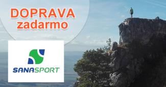 Doprava zadarmo na SanaSport.sk