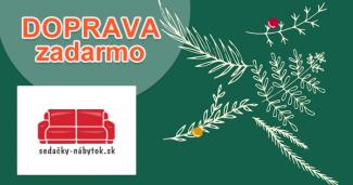 Doprava zadarmo na Sedacky-Nabytok.sk