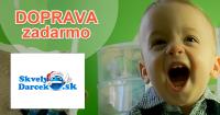 Doprava zadarmo na SkvelyDarcek.sk