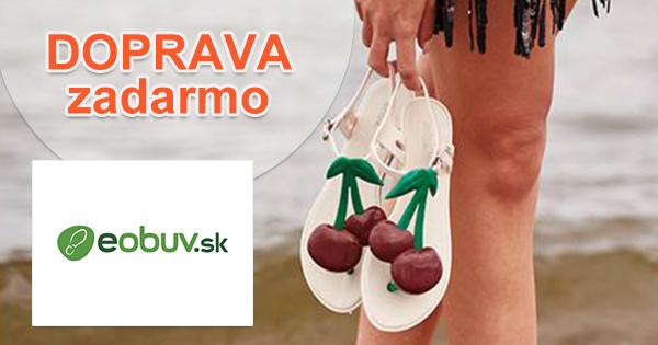 Doprava zadarmo na eObuv.sk