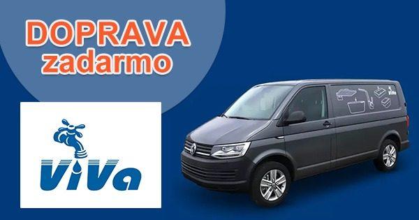 Doprava zadarmo na všetko na VivaEshop.sk