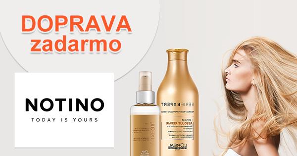 Doprava zadarmo na vlasovú kozmetiku na Notino.sk