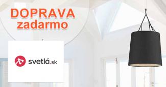 Doprava zdarma k nákupu na Svetla.sk