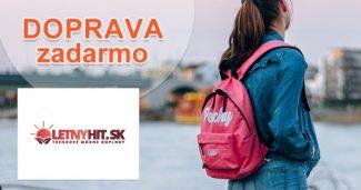 Doprava zdarma na všetko k nákupu na LetnyHit.sk