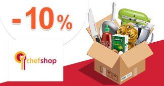 EXKLUZÍVNY kód -10% na všetko na ChefShop.sk