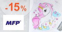 EXKLUZÍVNY kód -15% na všetko na MFPpapier.sk