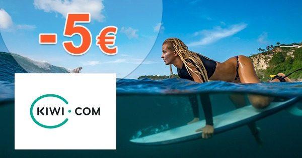 EXKLUZÍVNY kód -5€ na rezervácie cez Kiwi.com