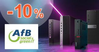 EXKLUZÍVNY KÓD -10% na stolné PC na AfBshop