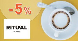 EXKLUZÍVNY KÓD -5% ZĽAVA na RitualCoffee.eu