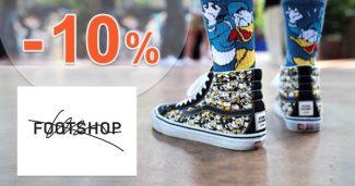 EXKLUZÍVNY kód -10% extra zľava na FootShop