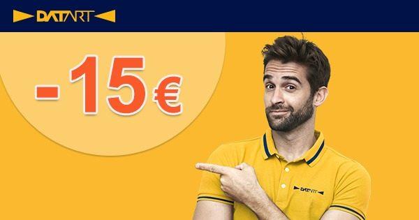 EXKLUZÍVNY kód -15€ zľava na všetko na Datart.sk