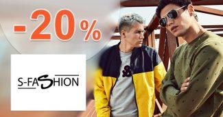 EXKLUZÍVNY kód -20% na bundy na S-Fashion.sk