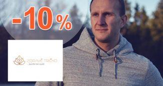 EXTRA ZĽAVA -10% NA VŠETKO na ZdraveTricko
