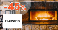 Elektrické krby až -45% zľavy na Klarstein.sk