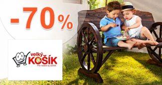 Bývanie a domácnosť až do -70% na VelkyKosik.sk