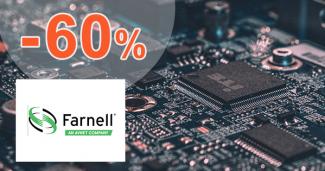 Elektronické súčiastky až -60% na sk.Farnell.com