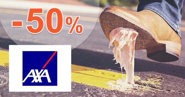 Exkluzívna ZĽAVA -50% na cestovné poistenie AXA