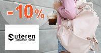 Exkluzívny kód -10% na BATOHY na Suteren.sk