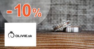 Exkluzívny kód -10% zľava NA VŠETKO na Olivie.sk