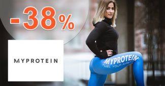 Exkluzívny kód -38% na VŠETKO na MyProtein.sk