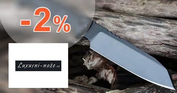 Exkluzívny kód -2% ZĽAVA na Luxusni-Noze.cz