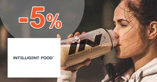 Exkluzívny kód -5% ZĽAVA na IntelligentFood.cz