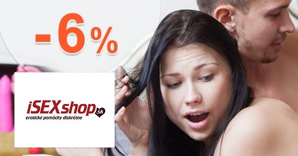 Exkluzívny kód -6% zľava na všetko na iSEXshop.sk