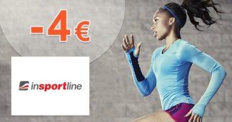 Extra ZĽAVA -4€ na prvý nákup na inSPORTline.sk