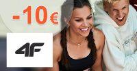 Extra ZĽAVA -10€ za odber emailov na 4Fstore.sk
