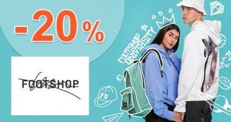 Extra ZĽAVA -20% všetky TRIČKÁ na FootShop
