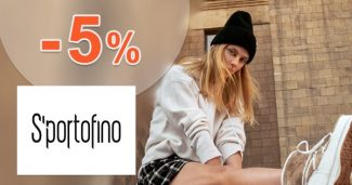 Extra ZĽAVA -5% k nákupu na SportofinoExtra ZĽAVA -5% k nákupu na Sportofino