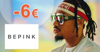 Extra ZĽAVA -6€ za odber noviniek na BePink.sk