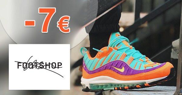 Extra ZĽAVA -7€ NA VŠETKO na FootShop
