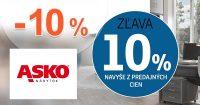 Extra zľava -10% na kancelárie na ASKO-nabytok.sk