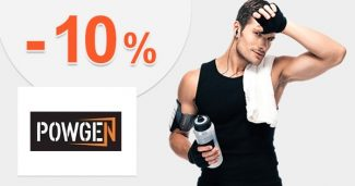 Extra zľava -10% na prvý nákup na Powgen.sk
