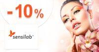 Extra zľava -10% na prvý nákup na Sensilab.sk
