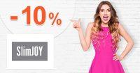 Extra zľava -10% na prvý nákup na SlimJOY.sk