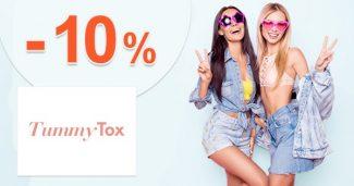 Extra zľava -10% na prvý nákup na TummyTox.sk