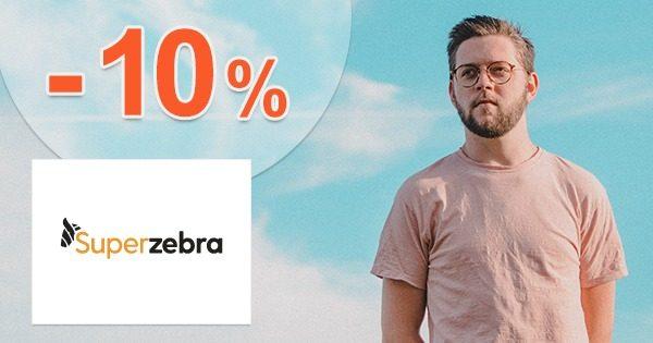 Extra zľava -10% na všetko na SuperZebra.sk