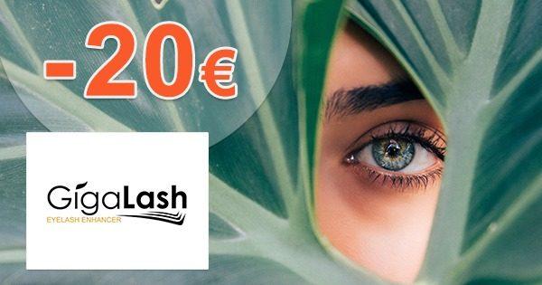 Extra zľava -20€ pri kúpe 2 balení na GigaLash.sk